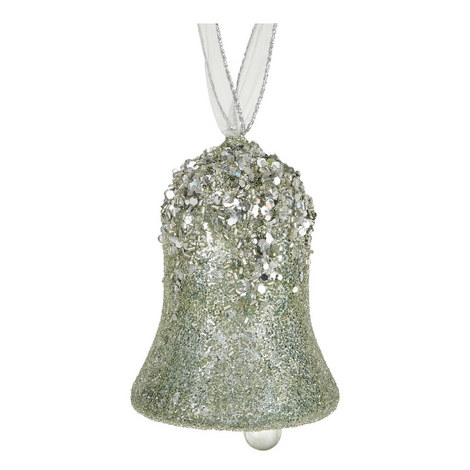 Encrusted Bell Tree Decoration, ${color}