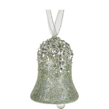 Encrusted Bell Tree Decoration