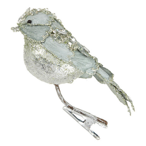 Glitter Bird Clip-On Tree Decoration, ${color}