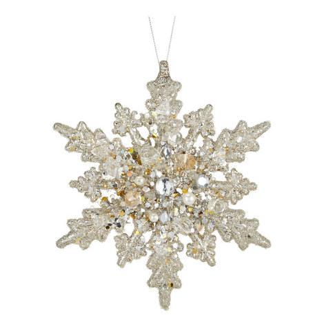 Snowflake Hanging Tree Decoration, ${color}