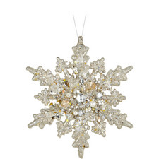 Snowflake Hanging Tree Decoration