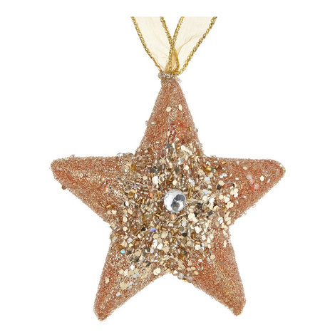 Glitter Star Hanging Decoration, ${color}