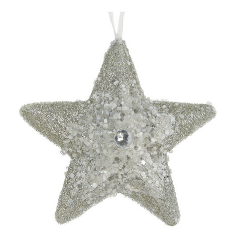 Glitter Star Hanging Decoration, ${color}