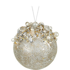 Glitter Top Ball Tree Decoration