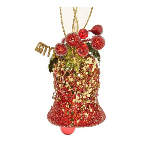 Glitter Bell Hanging Decoration, ${color}