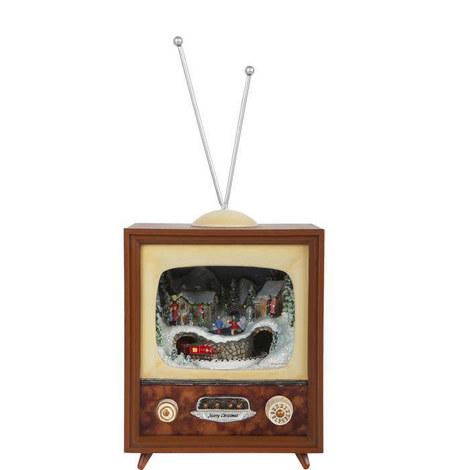 Small Christmas TV Ornament, ${color}