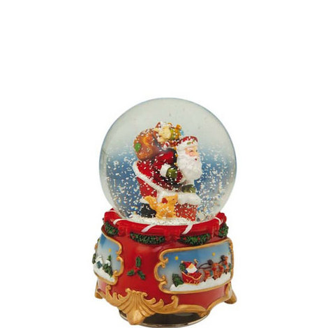 Musical Santa Snow Globe, ${color}