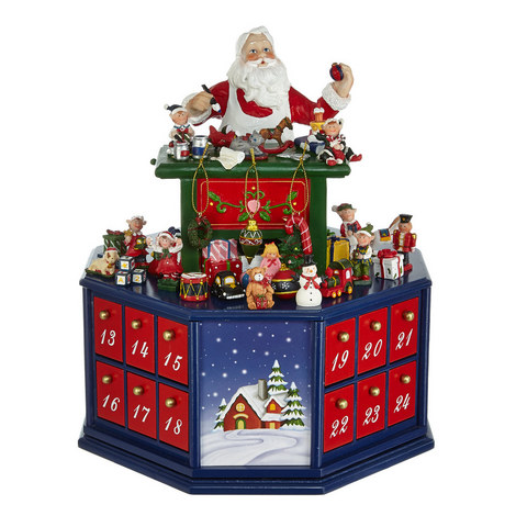 Santa's Workshop Advent Calender, ${color}