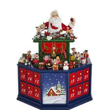 Santa's Workshop Advent Calender