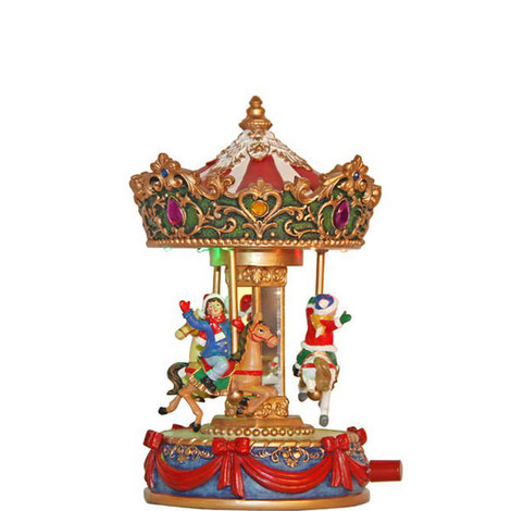 Wind Up Christmas Carousel, ${color}