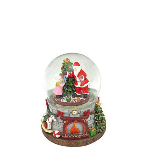 Santa and Girl Snowglobe, ${color}