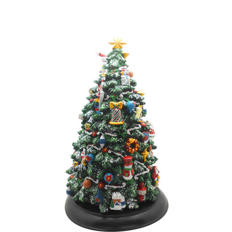 Musical Wind-Up Christmas Tree, ${color}