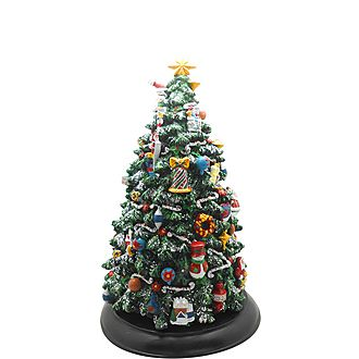Musical Wind-Up Christmas Tree
