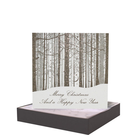 Forest Scene Cards Set of 6, ${color}