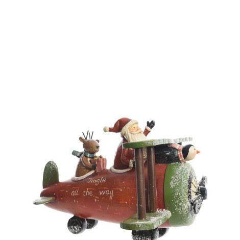 Santa in Flight, ${color}