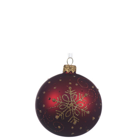 Snowflake Bauble, ${color}