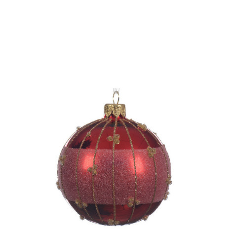 Glitter Band Bauble, ${color}
