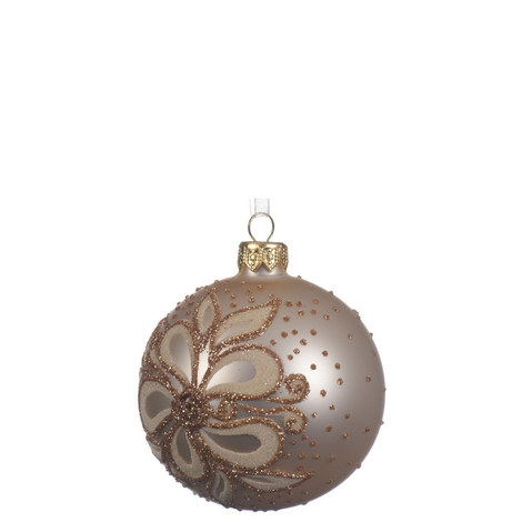 Pearly Floral Bauble, ${color}