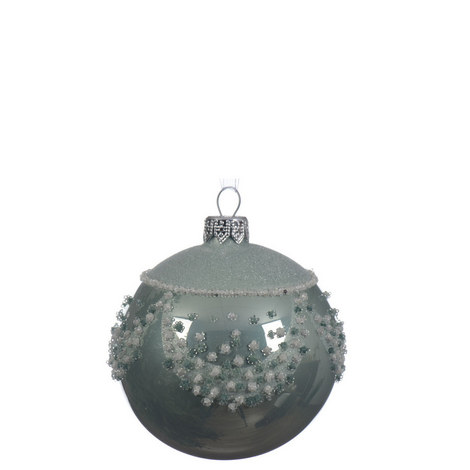 Draped Glitter Bauble, ${color}