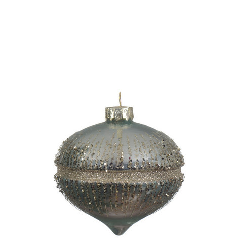 Glitter Band Onion Bauble, ${color}