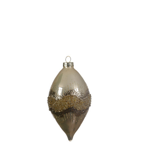 Glitter Band Drop Bauble, ${color}