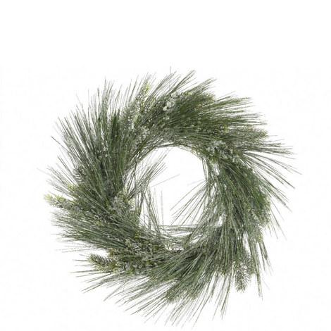 Frost Needle Wreath 60cm, ${color}