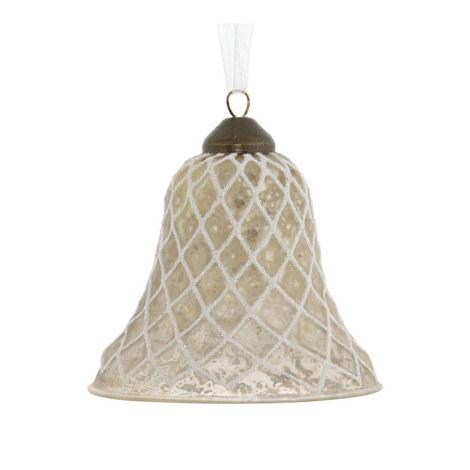 Diamond Cut Bell Decoration, ${color}