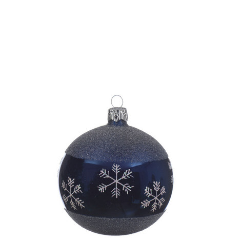 Snowflake Band Bauble, ${color}