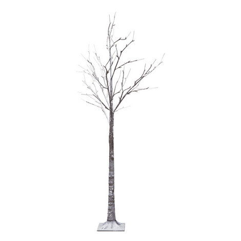 LED Snowy Tree Decoration, ${color}