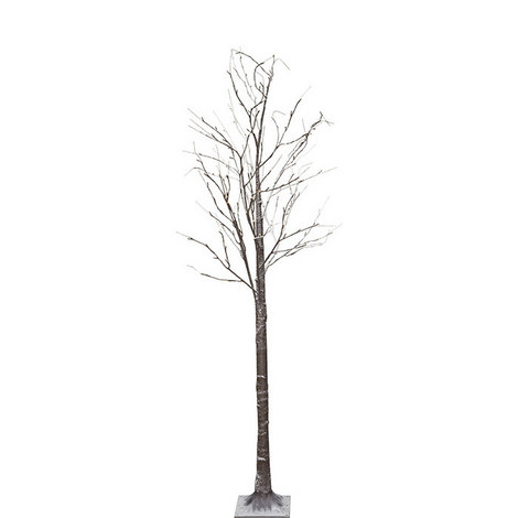 LED Snowy Tree Outdoor Decoration, ${color}