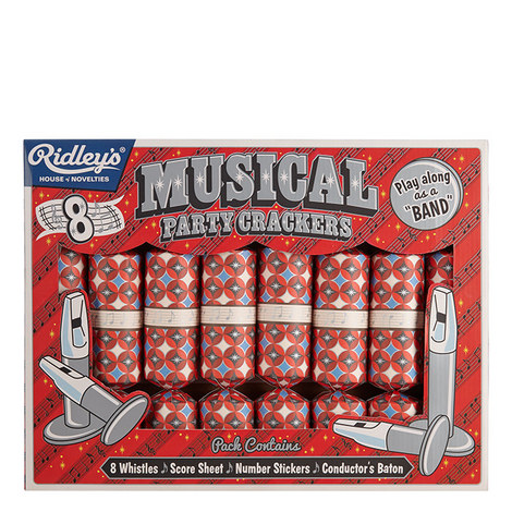 Ridley's Musical Crackers Set Of 8, ${color}