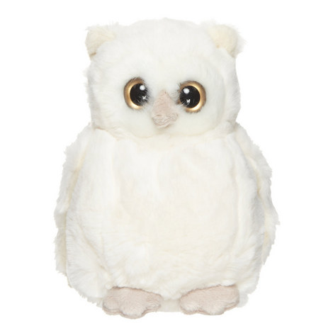 Clever Blanca Stuffed Owl, ${color}