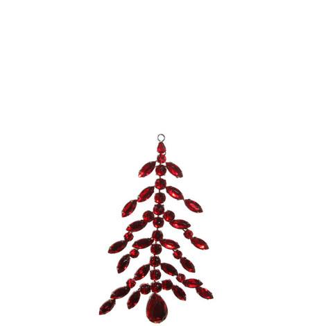 jewel tree ornament 17cm - Jewel Colored Christmas Decorations