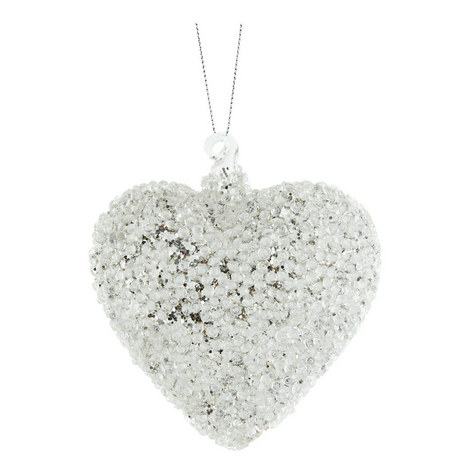 Glass Heart Hanging Decoration, ${color}