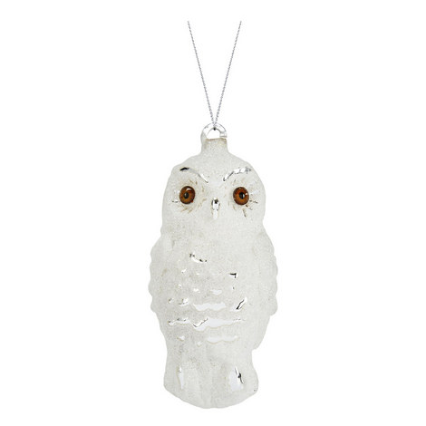 Glitter Owl Hanging Decoration, ${color}