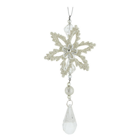 Flower Drop Hanging Decoration, ${color}