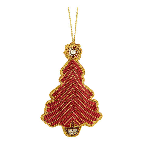 Embellished Tree Hanging Decoration, ${color}