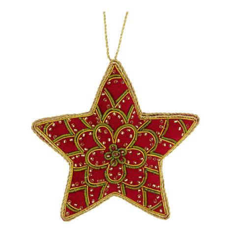 Embellished Star Hanging Decoration, ${color}