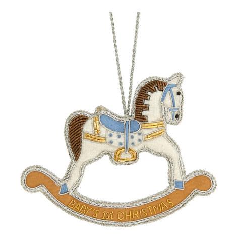 Rocking Horse Tree Decoration, ${color}
