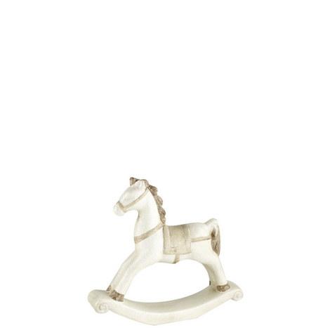 Ceramic Rocking Horse 30cm, ${color}