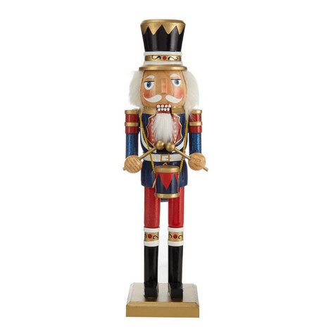 Nutcracker and Drum Ornament, ${color}