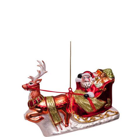 Santa's Sledge 12cm, ${color}