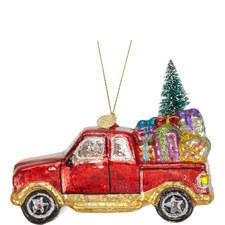 LED Gift Car Tree Decoration