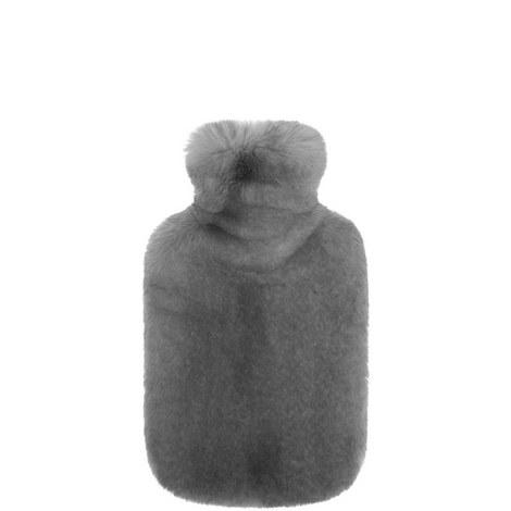 Faux Fur Hot Water Bottle, ${color}