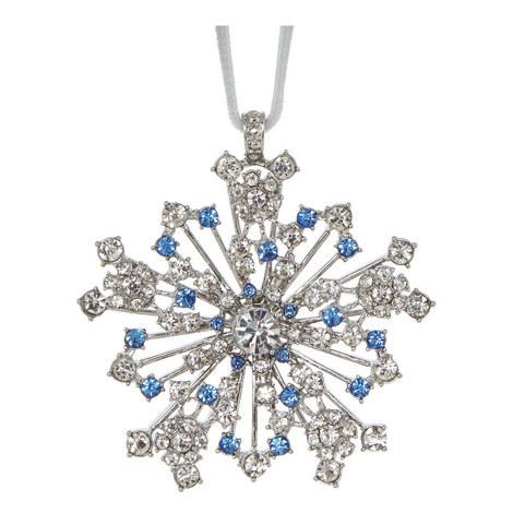 Sparkle Snowflake Hanging Decoration, ${color}