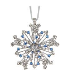 Sparkle Snowflake Hanging Decoration