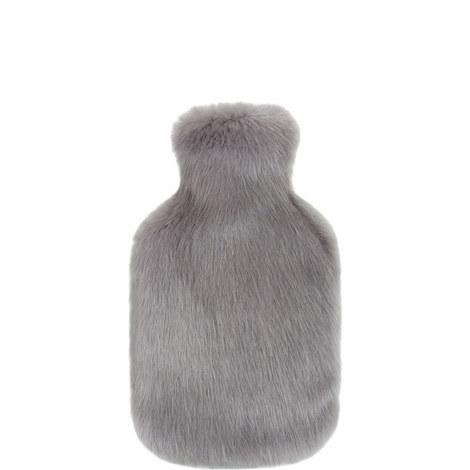 Cloud Faux Fur Hot Water Bottle, ${color}