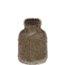 Cloud Faux Fur Hot Water Bottle
