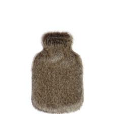 Cloud Faux Fur Hot Water Bottle