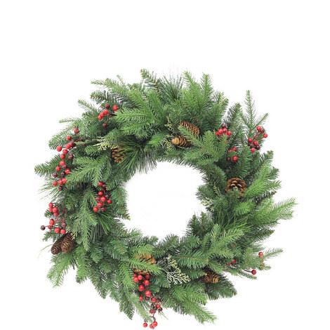Forest Mix Wreath 60cm, ${color}